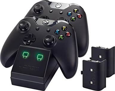 Venom Xbox One Twin Docking Station with 2 x Rechargeable Battery