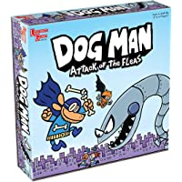 Dog Man Board Game Attack of The Fleas (Fuzzy Little Evil Animal Squad) By University Games Based On The Popular Dog Man…