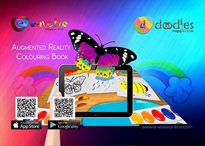 Amazon Animation In Augmented Reality Coloring Books For Kids