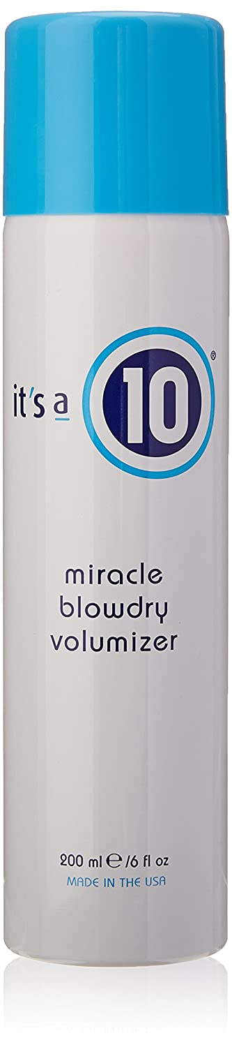 Miracle Blowdry Volumizer by It's A 10 for Unisex - 6 oz Spray It's A 10 898571000426