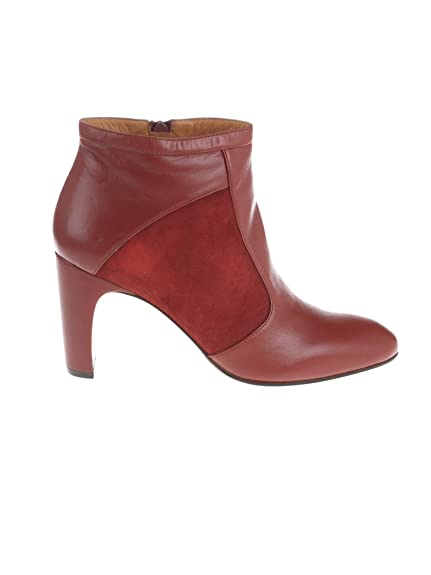 5ac553bd50205 Chie Mihara Women's Edamterra Red Leather Ankle Boots: Amazon.co.uk ...