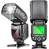 Neewer NW-561 LCD Display Speedlite Flash for All DSLR Cameras with Standard Hot Shoe