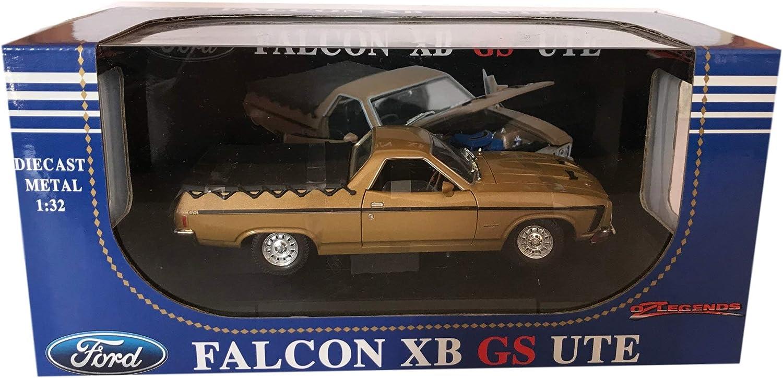 1:32 Scale Diecast Falcon XB GS UTE in Tropic Gold