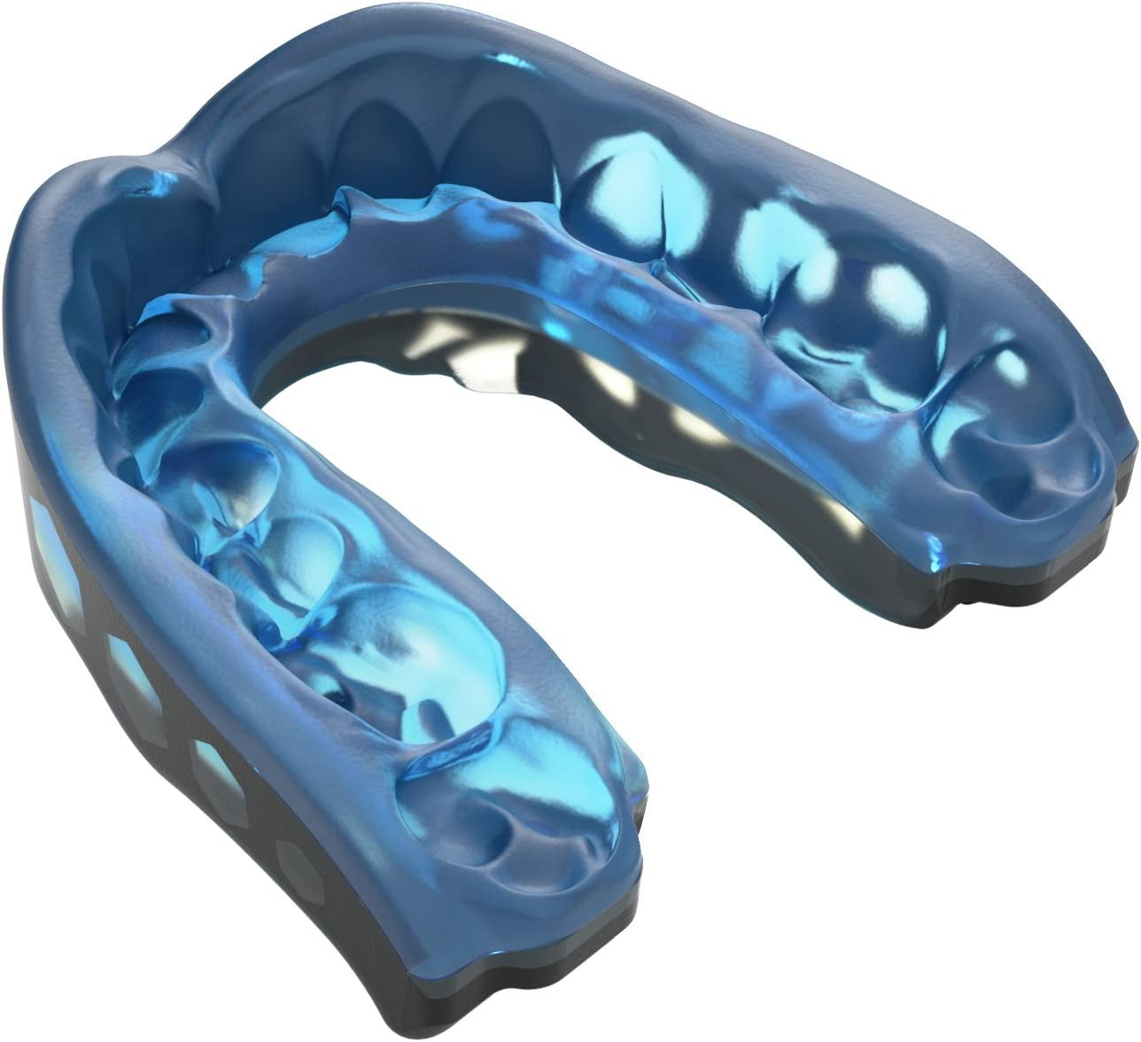 Shock Doctor Gel Max Mouth Guard, Sports Mouthguard for Football, Lacrosse, Hockey, Basketball, Flavored mouth guard, Youth & Adult : Sports & Outdoors
