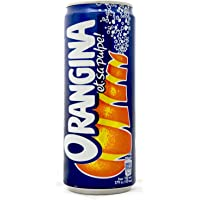 Orangina Sparkling Citrus Beverage, 330ml (Pack of 24)