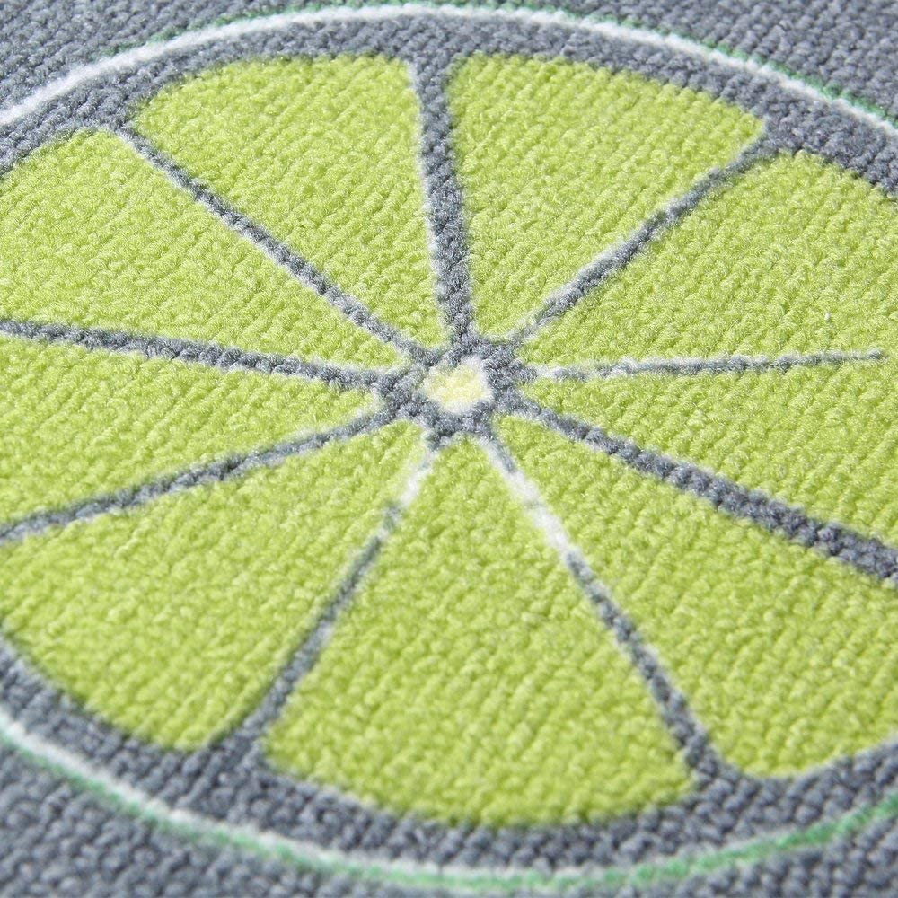bagno Tongxu per posizionare il lato anteriore del lavello o della lavatrice 40 x 120 cm e 40 x 60 cm Set di 2 tappetini antiscivolo assorbenti per cucina