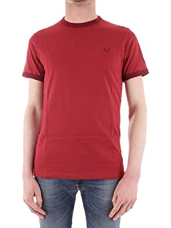 Fred Perry Uomo Ringer T-Shirt