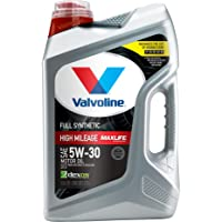 Valvoline Full Synthetic High Mileage with MaxLife Technology SAE 5W-30 Motor Oil 5… photo