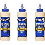 3 x Titebond II à 473 ml colle à bois résistant aux intempéries Premium Bois