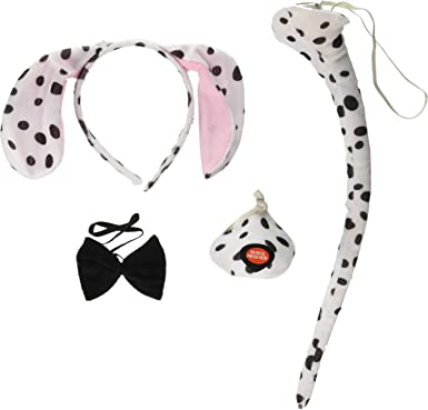 New Dalmatian Set Ears + Tail