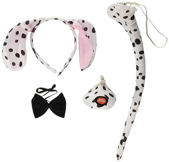 Amazoncom Forum Novelties Animal Costume Set Dalmatian Dog Ears