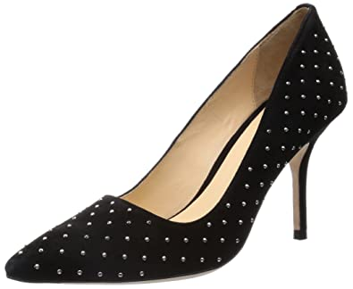 9ac8cd184554 Amazon.com   Cole Haan Women's Bradshaw Stud 85 Dress Pump, Black, 6 ...
