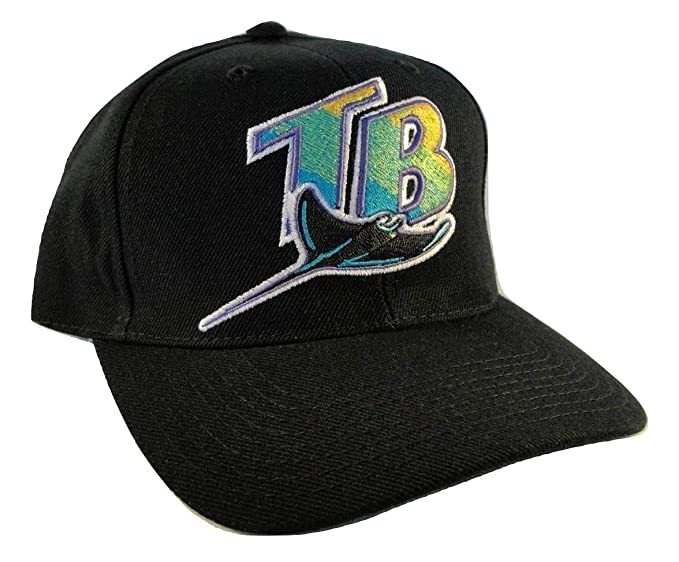 06cdd15b Genuine Merchandise Vintage 90's Tampa Bay Devil Rays MLB Adult Snapback  Hat by Sports Specialties Corp