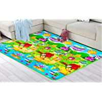 FWQPRA Eva Foam Develop Rugs Puzzle Carpets Play Mats for Kids, 6x5.5ft (Multicolour)