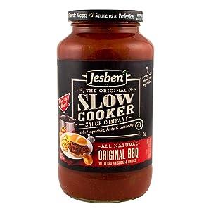 Jesben Slow Cooker Sauce Original BBQ 24 oz