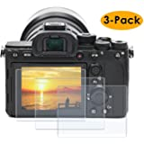 PCTC Tempered Glass LCD Screen Protector fit for Sony Alpha a7II A7III A7IV a7SII a7SIII a7RII a7RIII a7RIV RX100VII…