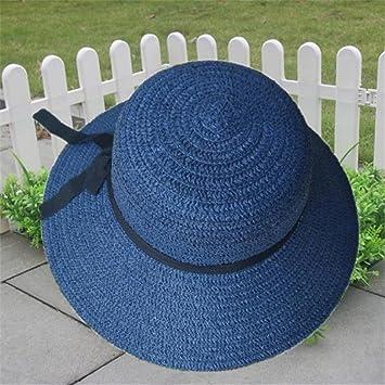 Clearance Sale! WYXlink Floppy Foldable Ladies Women Straw Beach Sun Summer  Hat Beige Wide Brim c00c20fb4ccc
