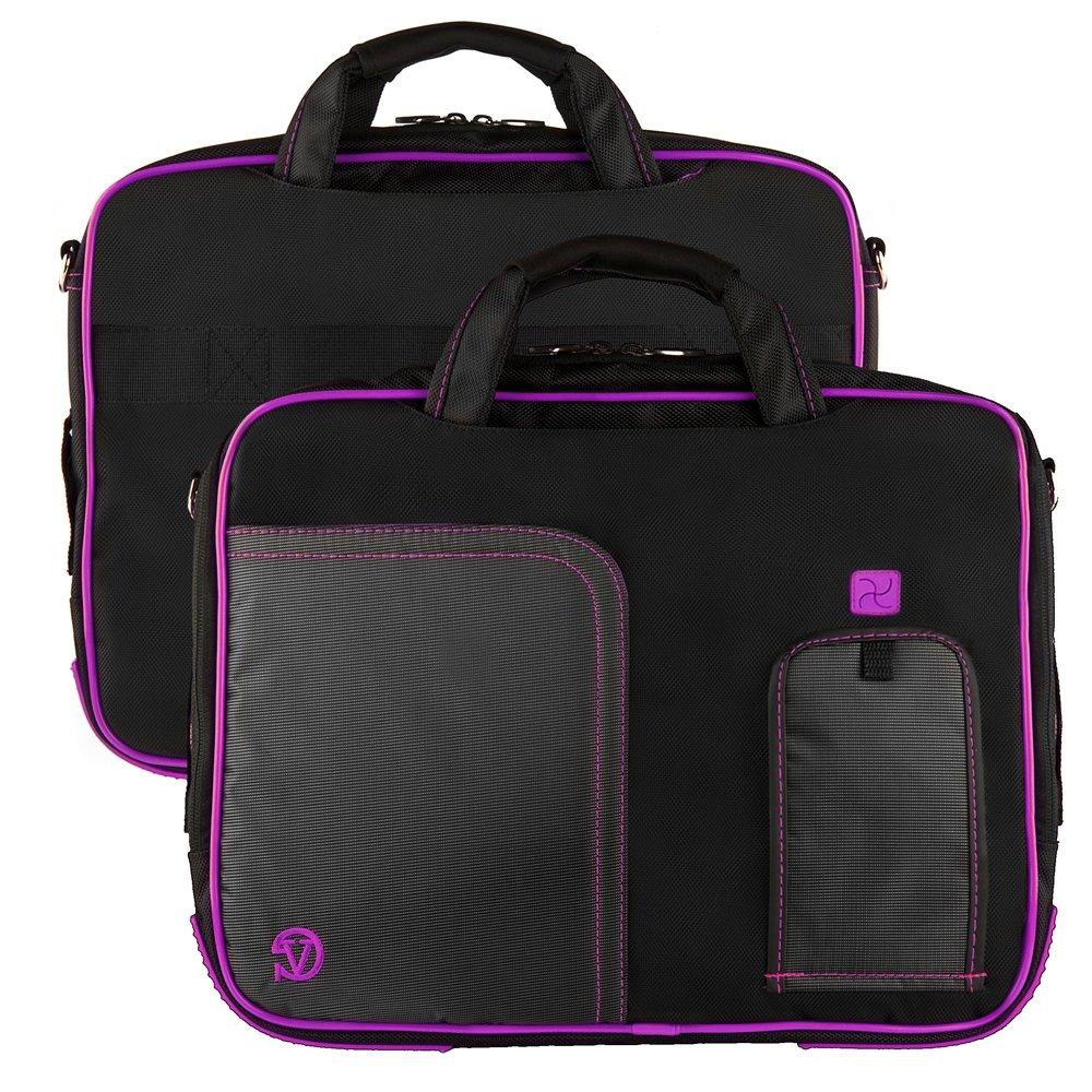 Microsoft Surface Pro 4 / Pro 5 / Pro 3 12 Inch Shoulder Bag Messenger Bag Lightweight,Purple Color