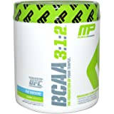 MusclePharm BCAA 3:1:2 for Muscle Development and Maintenance, Blue Raspberry, 30 Servings