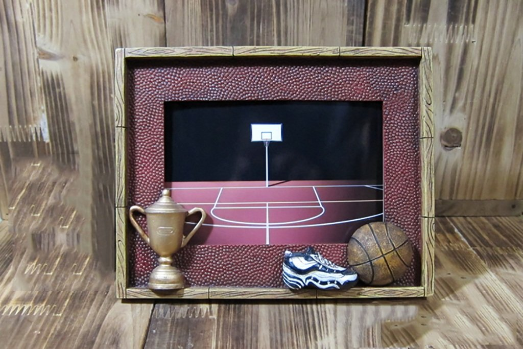 Amazon.de: Basketball-Foto-Rahmen / Souvenir / Handwerk / Retro ...
