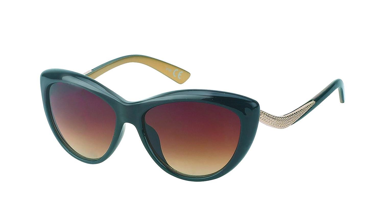 Chic-Net Gafas de sol de las señoras de la vendimia teñido ...