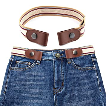 430f727c6f3 KOBWA cinturón elástico sin Hebilla