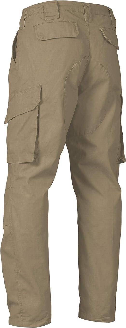 La Police Gear Pantalones Tacticos Impermeables Para Hombre Con Pretina Elastica Clothing Amazon Com