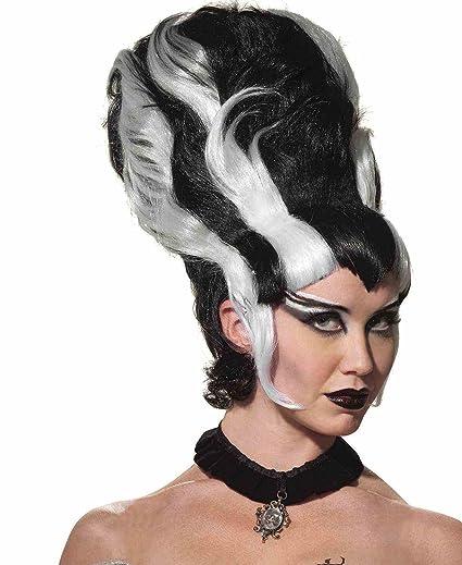 Amazon.com  Forum Women s Monster Bride Wig 4c0e519a5