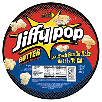 Jiffy Pop Butter Popcorn 45 Oz Amazon Grocery Gourmet Food