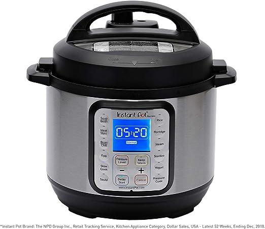 Amazon Com Instant Pot Duo Plus Mini 9 In 1 Electric Pressure