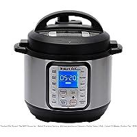 Instant Pot DUO Qt 9-in-1 Multi- Use Programmable Pressure Cooker, Slow Cooker, Rice Cooker, Yogurt Maker, Egg Cooker, Sauté, Steamer, Warmer, and Sterilizer
