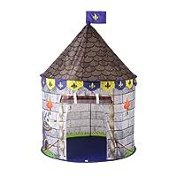 FLOWood Tente d'Enfants pour Jouer à l'extérieur comme à l'intérieur, Tente dépliable pour Filles et garçons (Bleu)