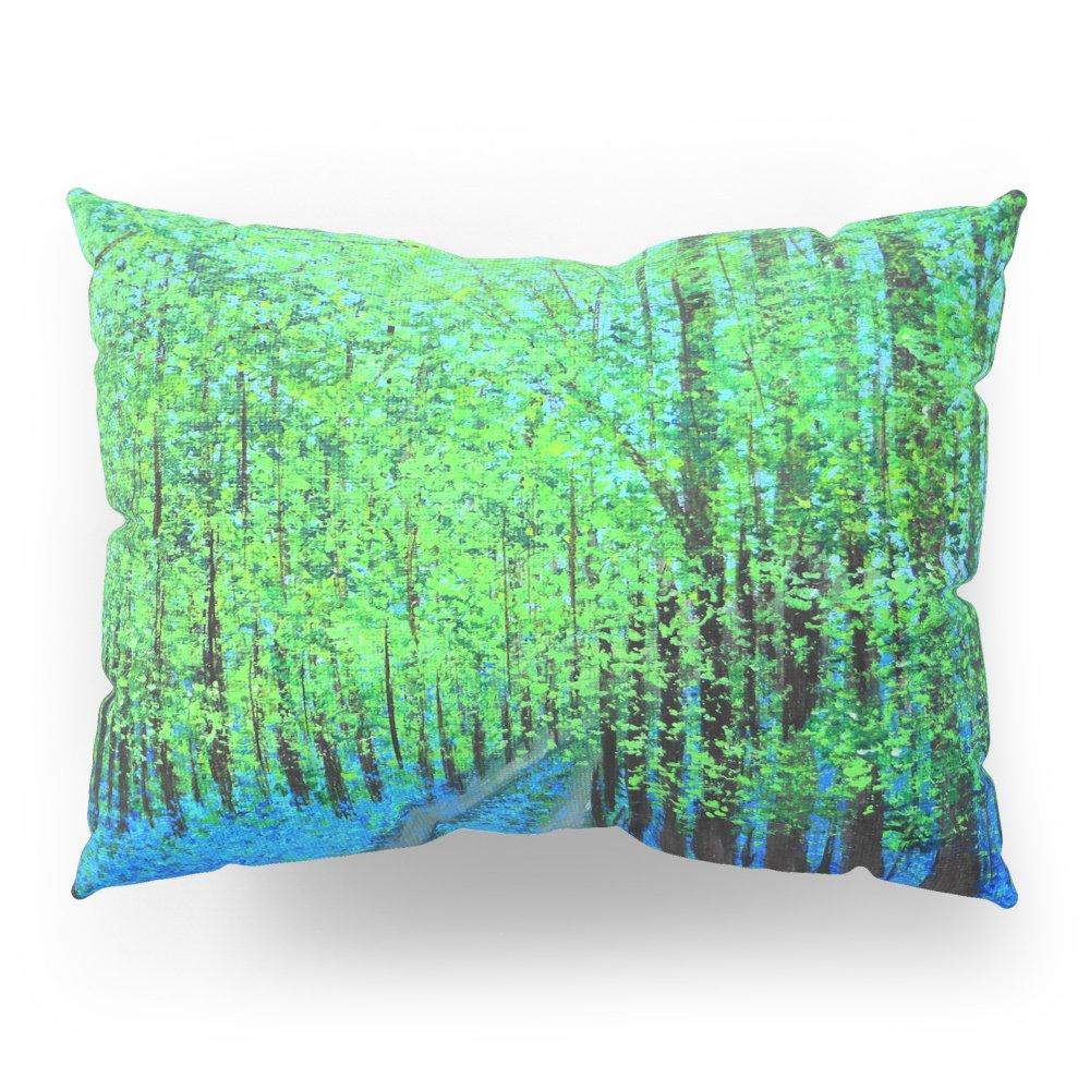 Society6 Bluebell Woods Pillow Sham Standard (20'' x 26'') Set of 2