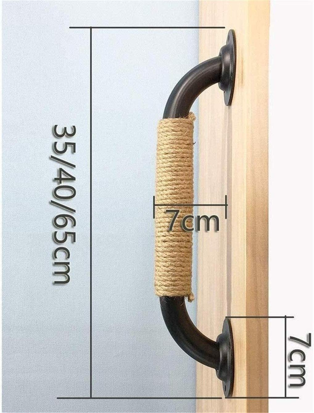 Sliding Door barn Processing and Hemp Rope 2022 XYQ ASDF~ Iron Water Pipe Big Handle Railing handrail Door