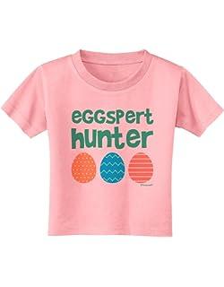 Easter Egghunt TooLoud Eggspert Hunter Toddler T-Shirt