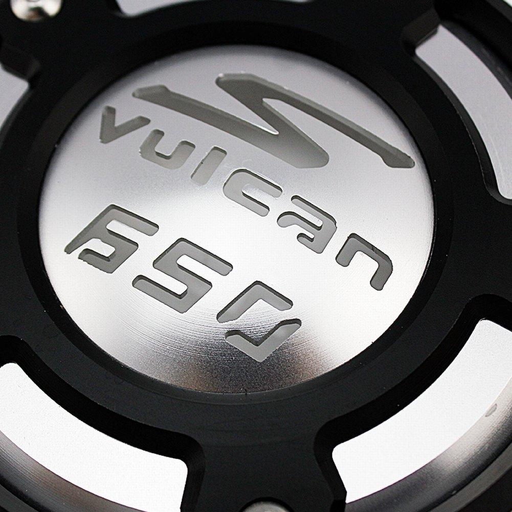 Gold XX eCommerce Motorrad CNC Aluminum Recht Motor Abdeckung Besch/ützer f/ür 2015-2017 Kawasaki Vulcan S VN650 2016
