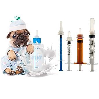 Biberón para mascotas. Biberón para perros y gatos. Botella de cuidado de mascotas.