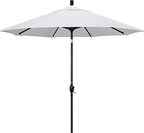 California Umbrella GSPT908117-5404 9' Round Aluminum Market