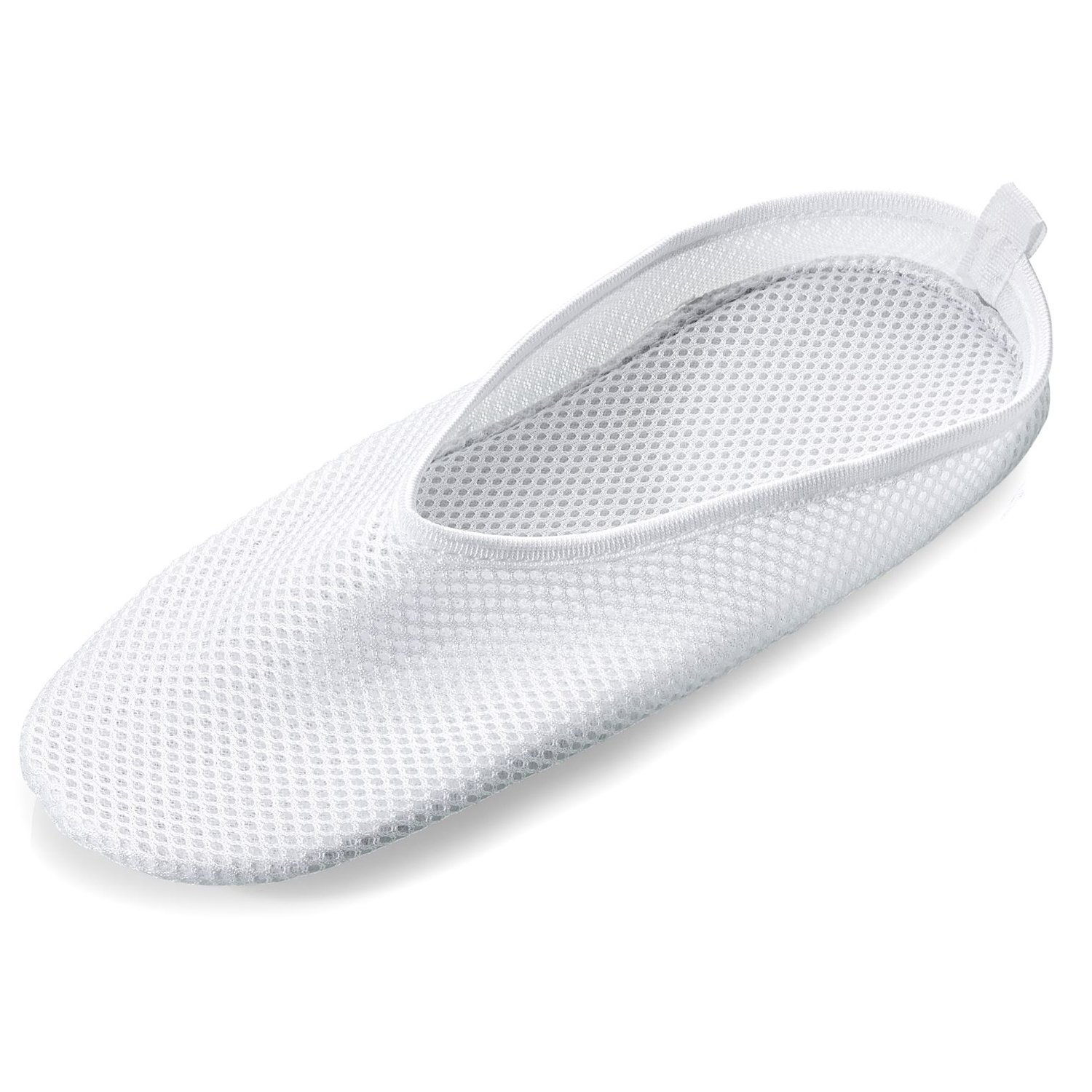 Secure Slip Resistant Shower Shoes W/ Non Skid Heavy Duty Grooved ...