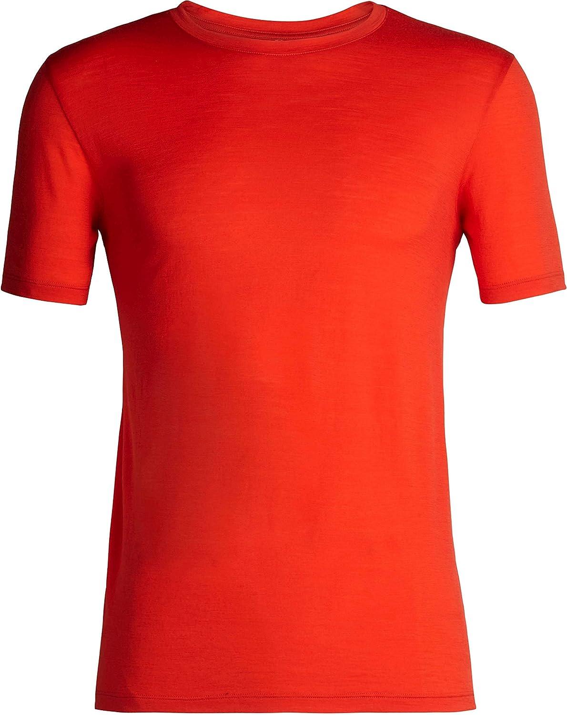 Icebreaker Mens Tech Lite Short Sleeve Crewe Merino T-Shirt