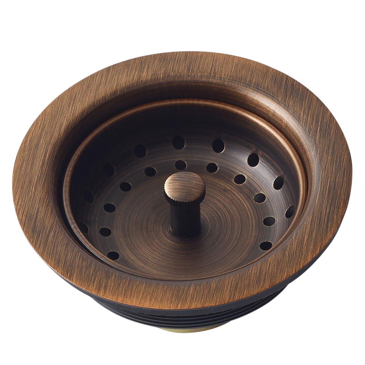 Sinkology Kitchen Sink Basket Strainer Drain TB35-01