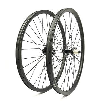 FidgetGear 27.5er Ruedas de Carbono para Bicicleta de montaña, 35 ...
