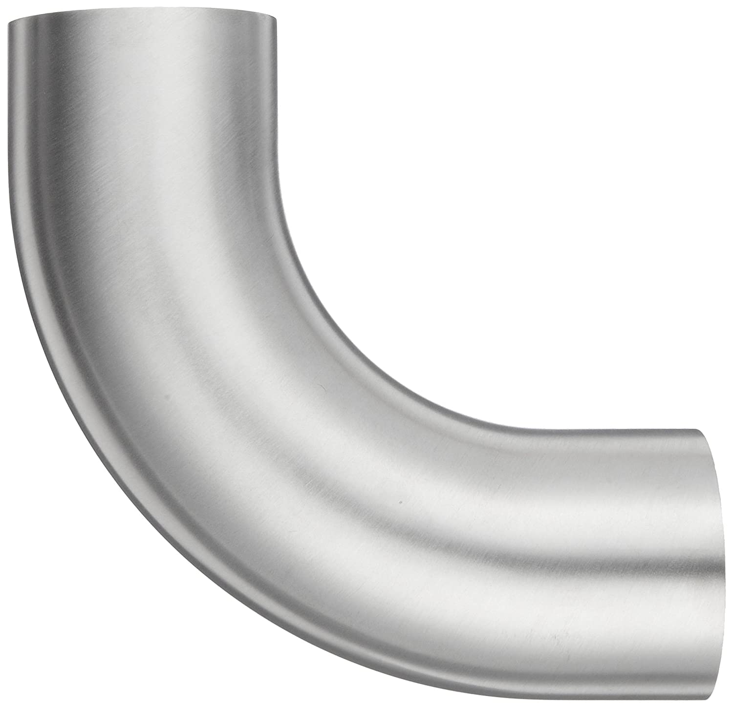 90 Degree Polished Weld Long Elbow with Tangent 2 Tube OD Dixon B2S-G200P Stainless Steel 304 Sanitary Fitting