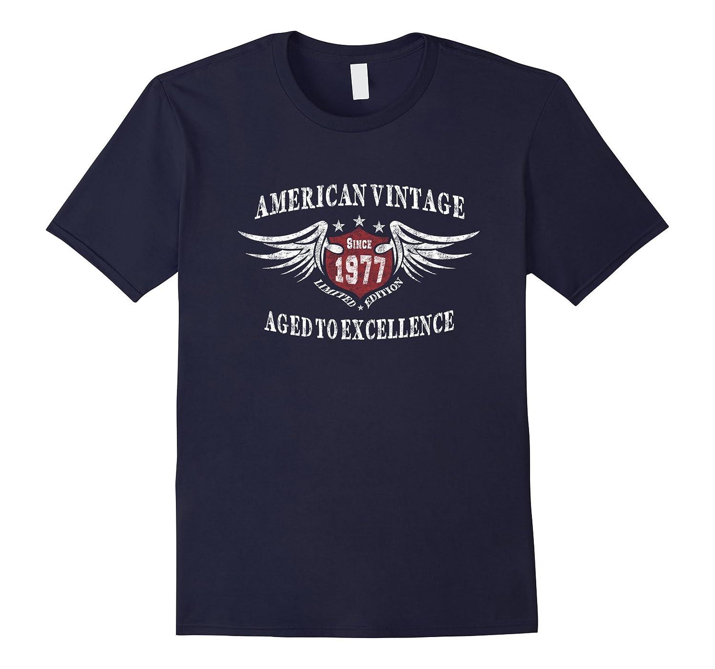 American Vintage 1977 Birthday Gift T-shirt For Men Women-CD