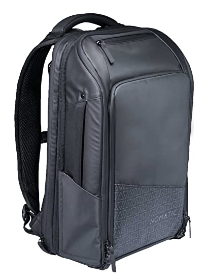 997103b58 Amazon.com: NOMATIC Travel Pack- Black Water Resistant Anti-Theft 30L  Flight Approved Carry on Laptop Bag Computer Backpack: Electronics