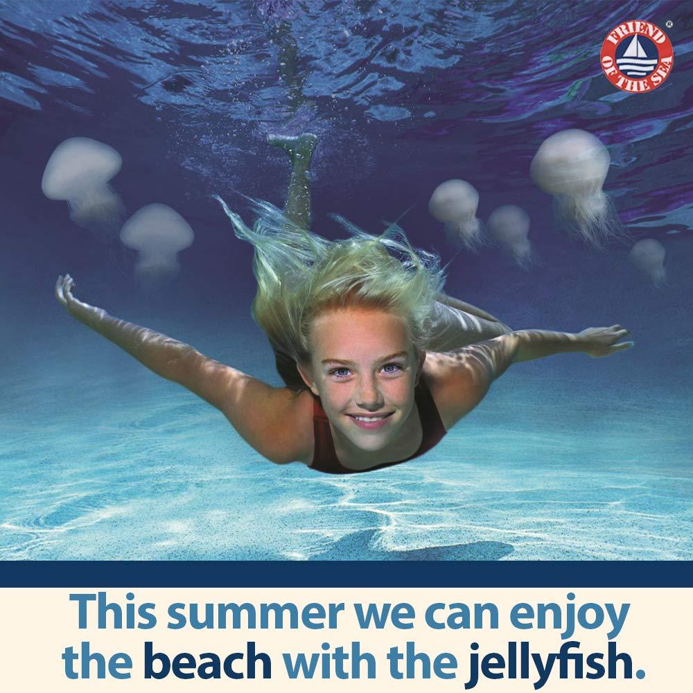 Safe Sea Anti-jellyfish Sting Protective Spray - Sunscreen - Sunblock - Sea  Lice - Jelly Fish (SPF40, 4oz