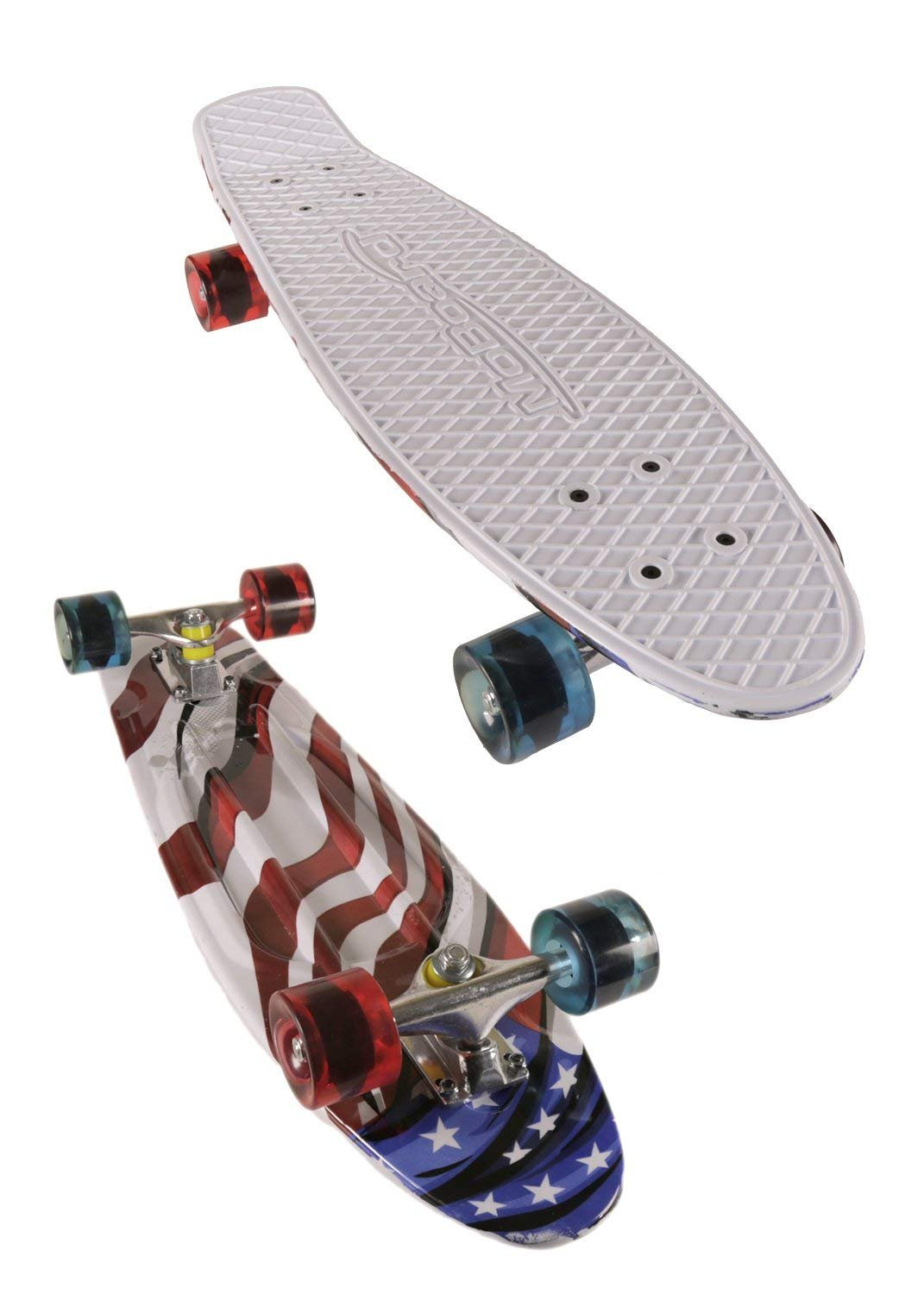 MoBoard 22 Classic Style Graphic Complete Skateboard