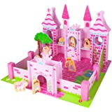Chad Valley Wooden Fantasy Castle With Figures Amazoncouk Toys
