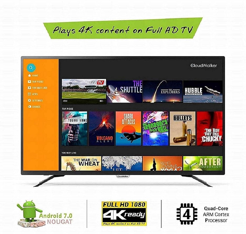 4K Ready Full HD CloudWalker (43 inches) Smart LED TV 43SFX2