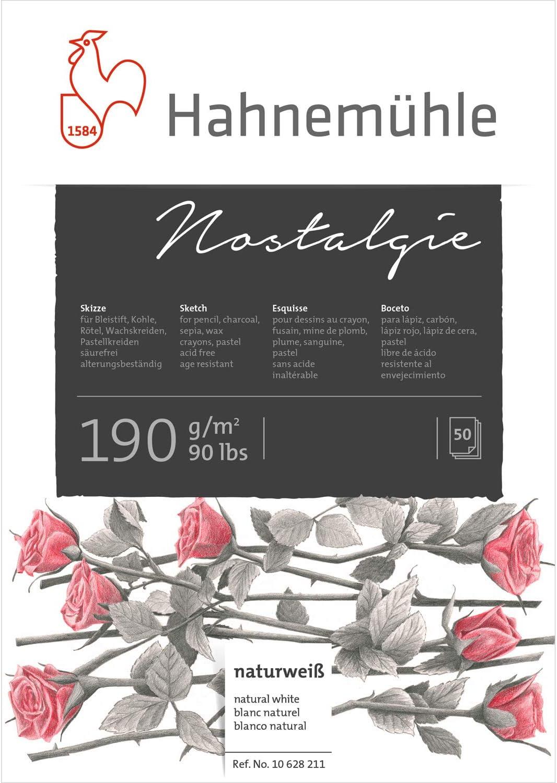 Hahnem/ühle 10628272 Carnet de croquis /à couverture standard 140 g 96 pages